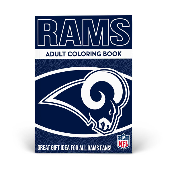 newest 9c439 7df02 Los Angeles Rams Adult Coloring Book | Shop the In The ...
