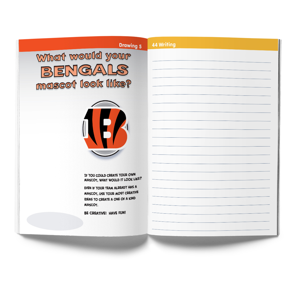 Cincinnati Bengals Activity Book