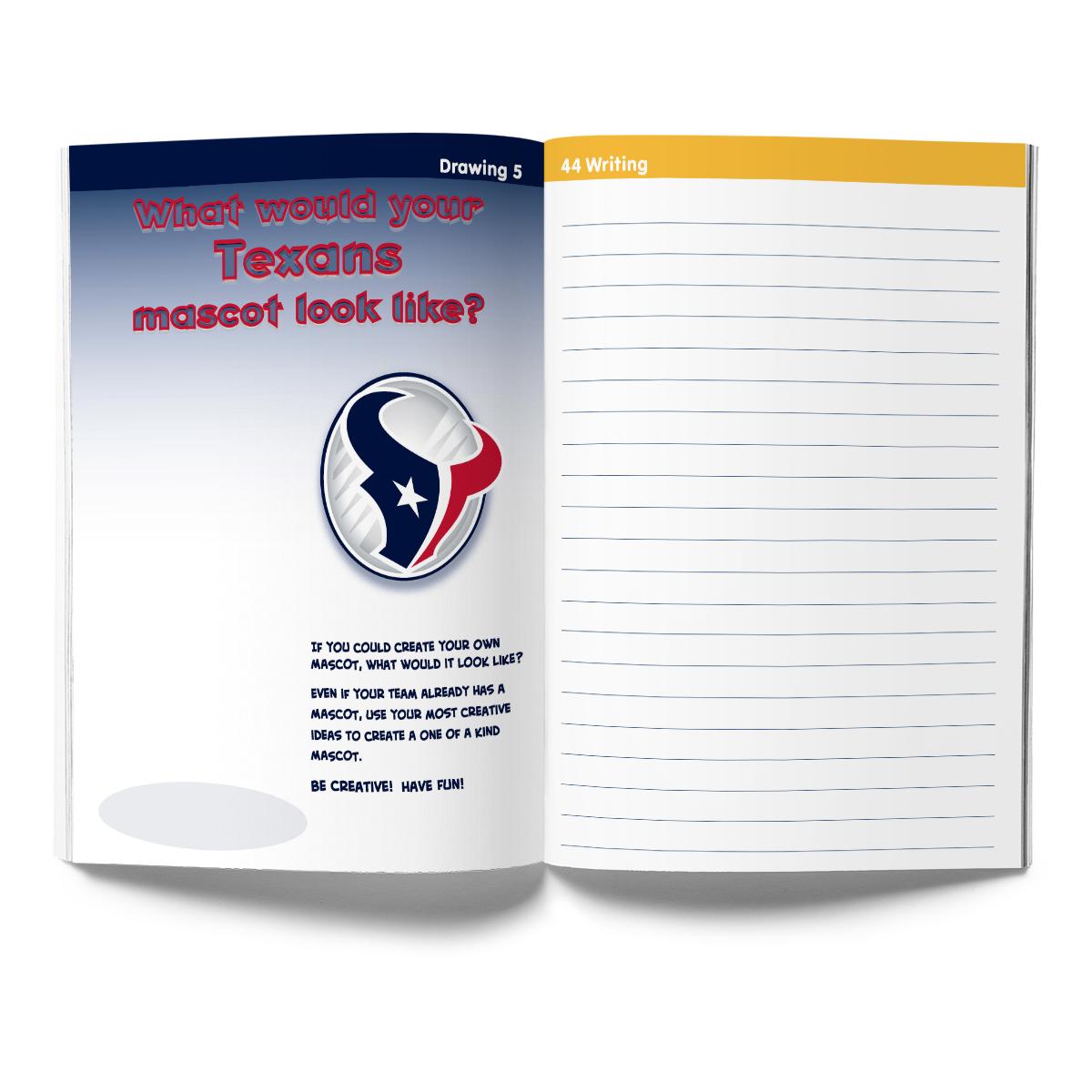 Houston Texans Activity Book