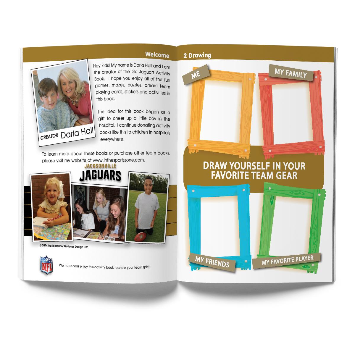 Jacksonville Jaguars Activity Book