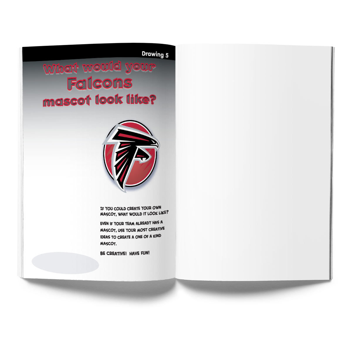 Atlanta Falcons Activity Book