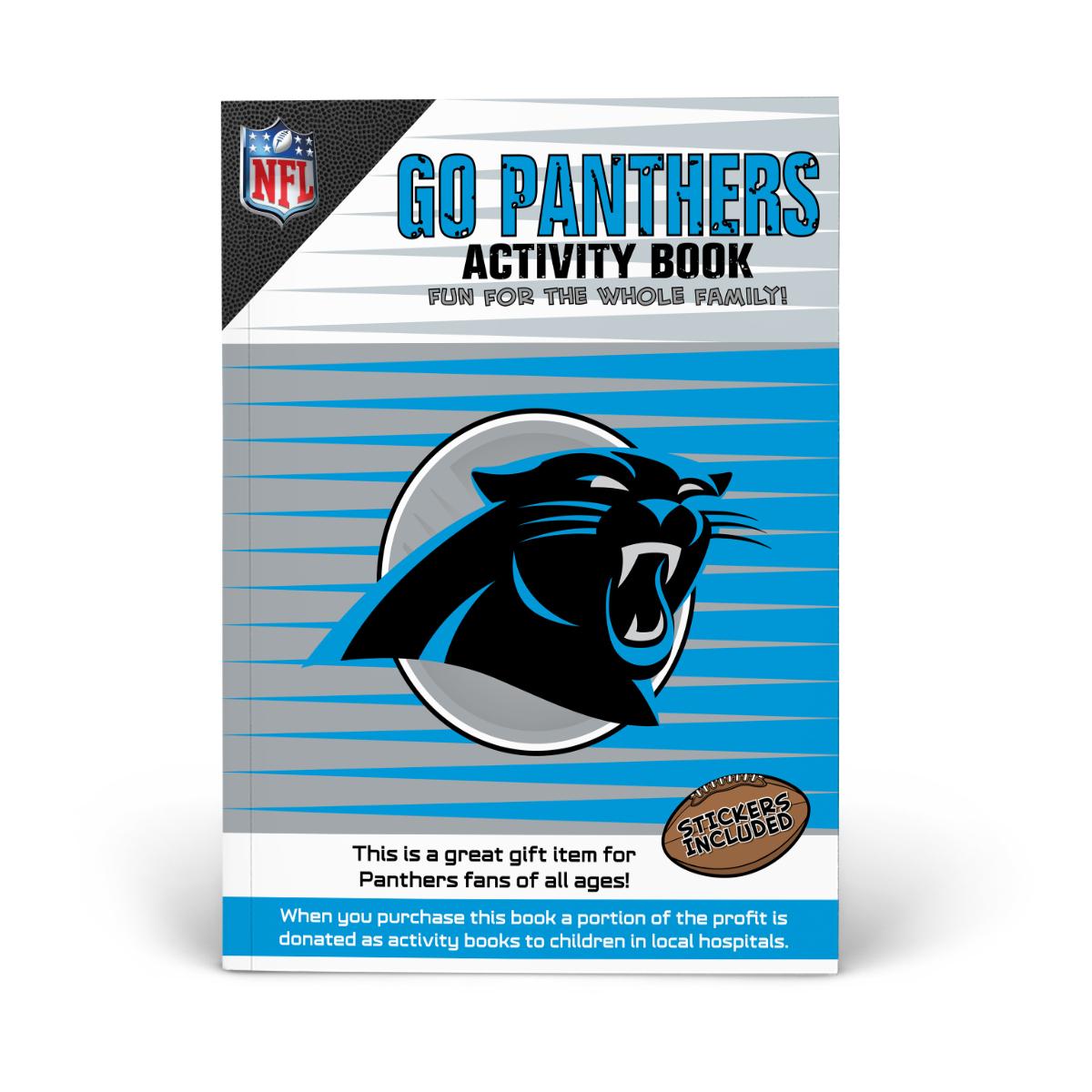 Carolina Panthers Activity Book