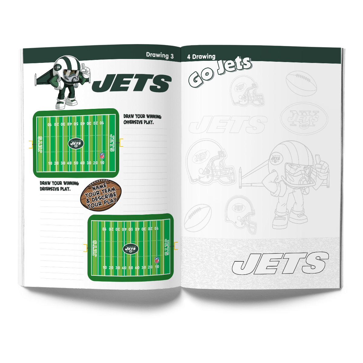 New York Jets Activity Book