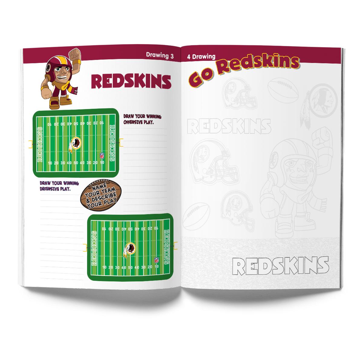 Washington Redskins Activity Book