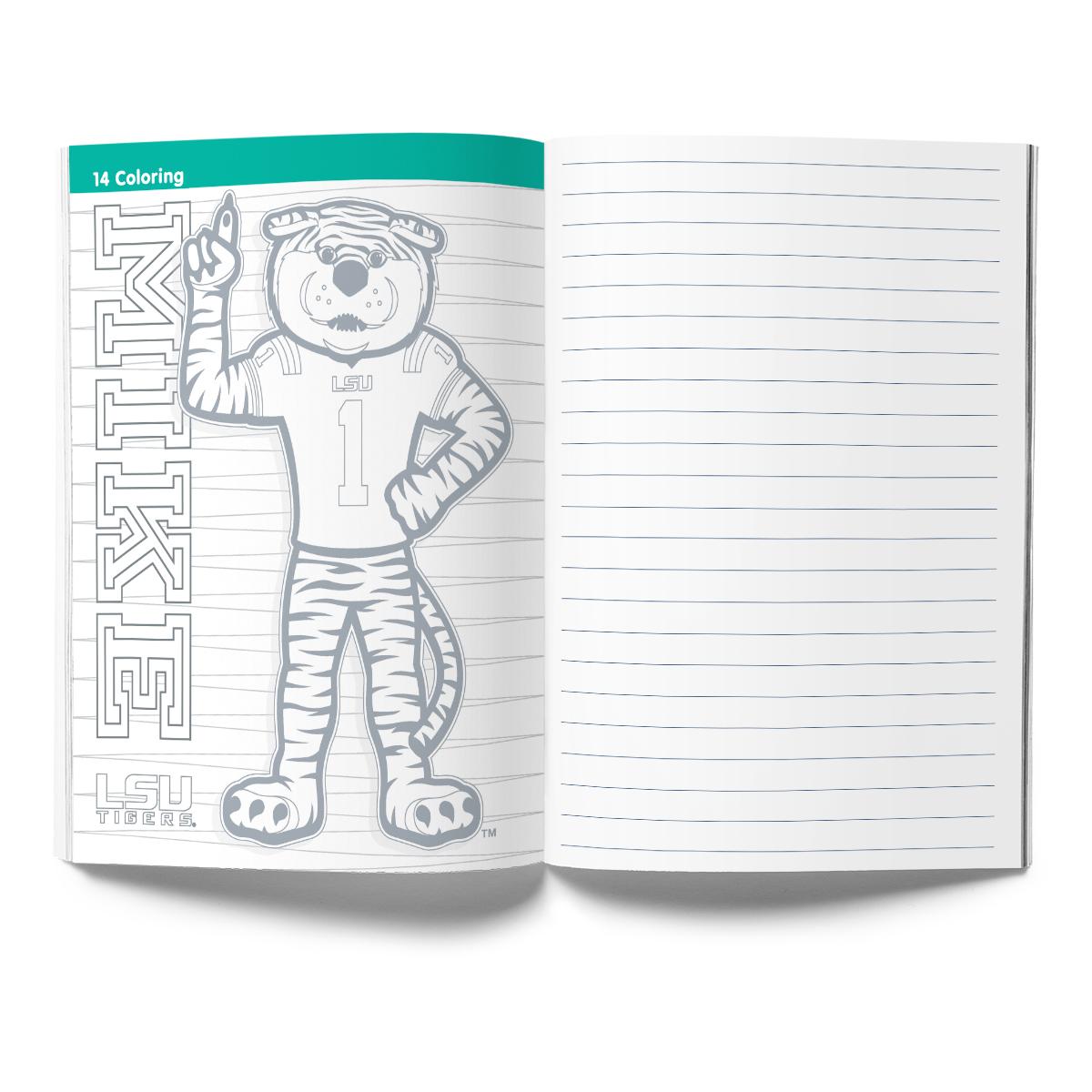 LSU Tigers Activity Book