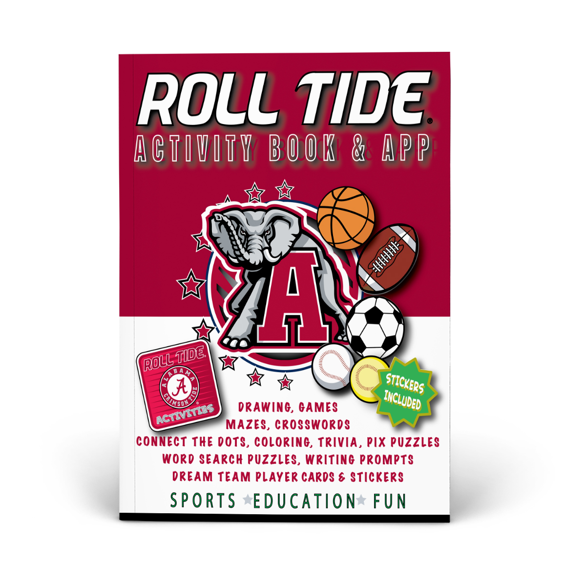 Alabama Crimson Tide Activity Book