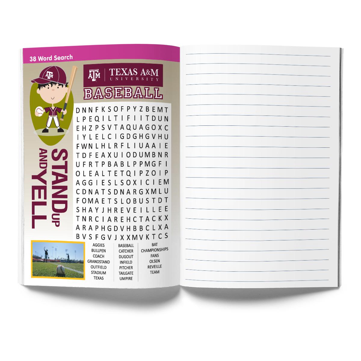 Texas A&M Aggies Activity Book