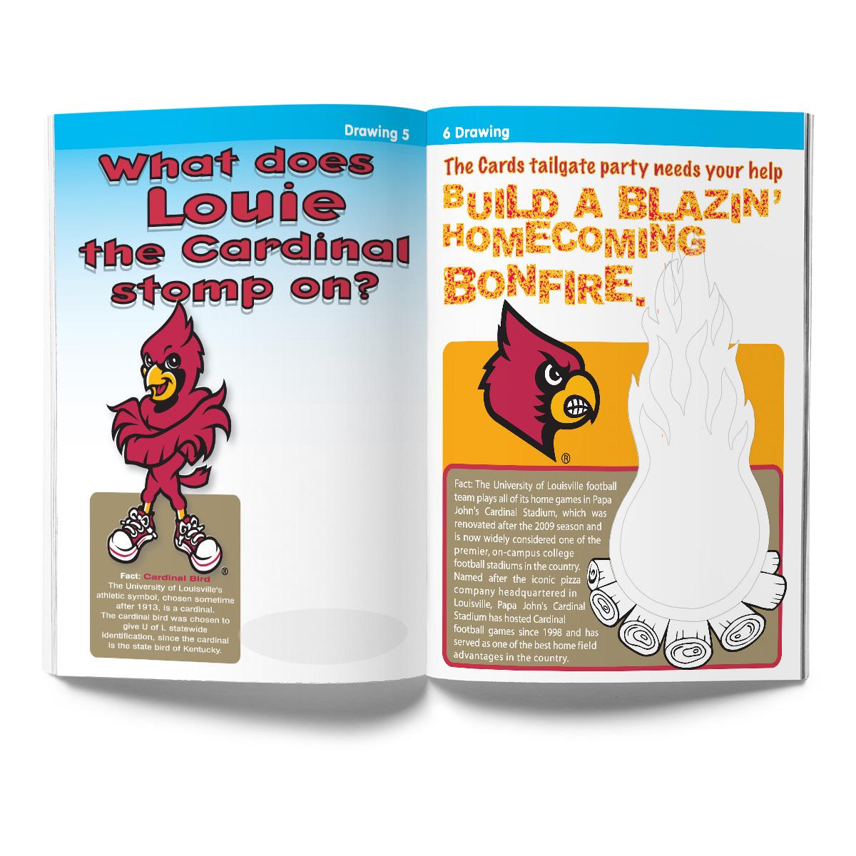 Louisville Cardinals Activity Book