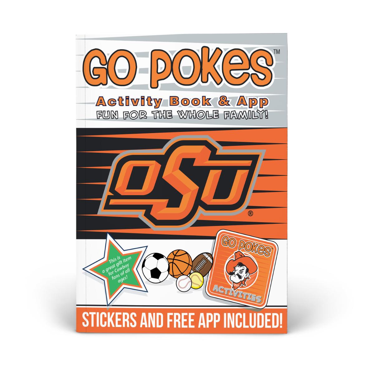 Oklahoma State Pokes Activity Book