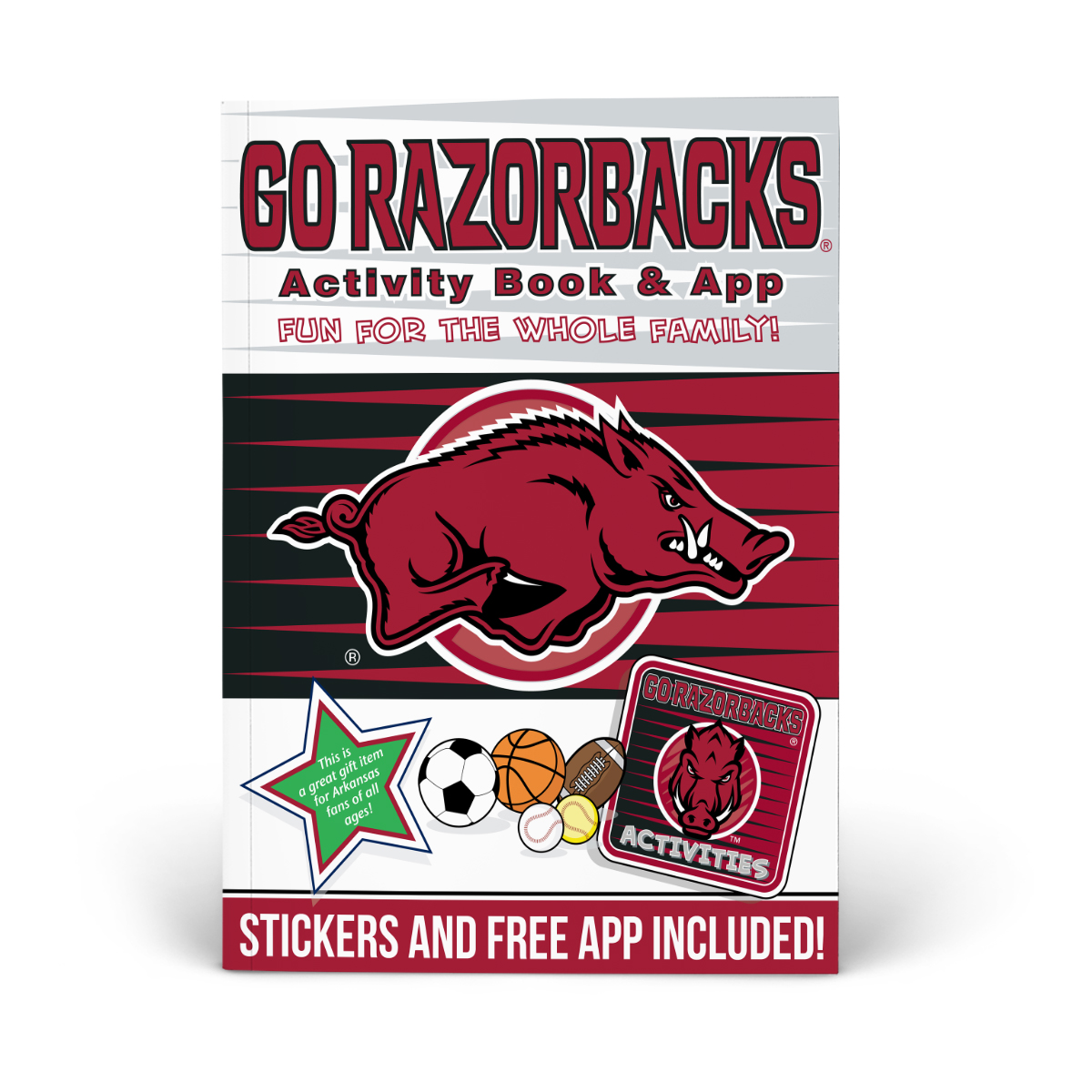 Arkansas Razorbacks Activity Book