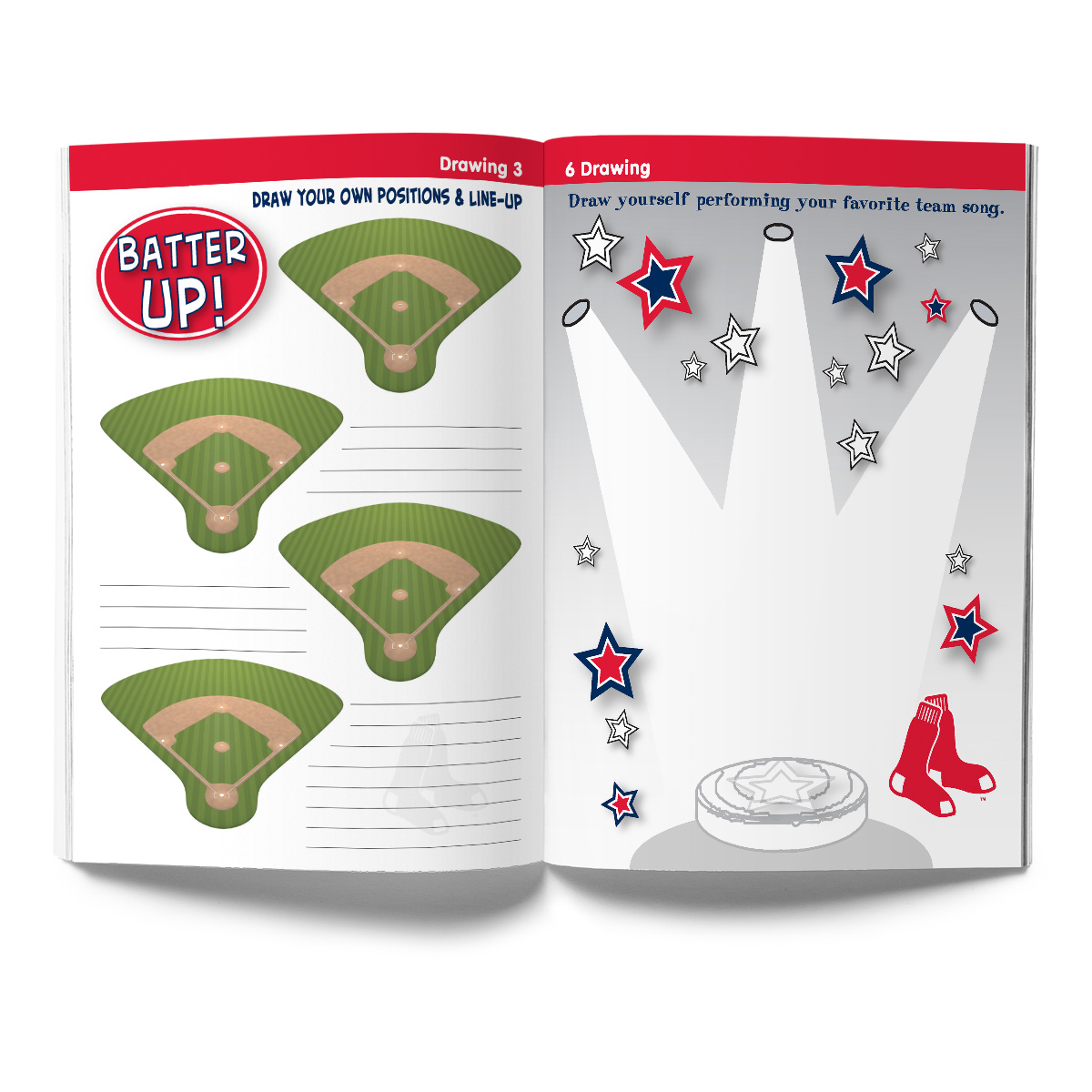 Boston Red Sox Activity Book