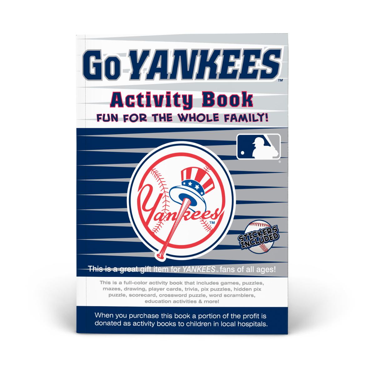 New York Yankees Activity Book