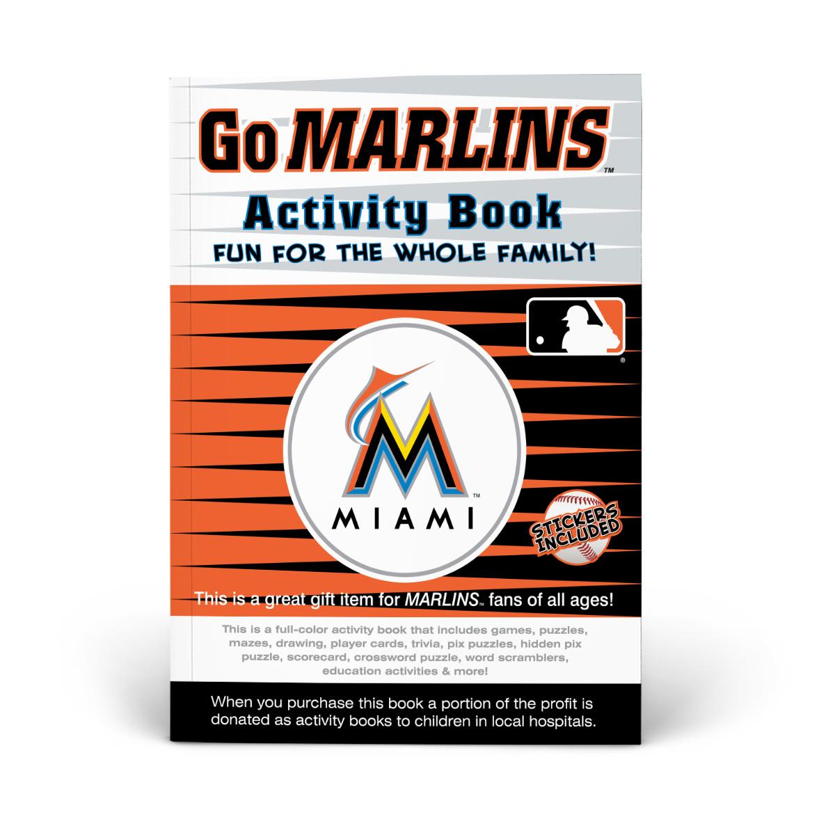 Miami Marlins Activity Book