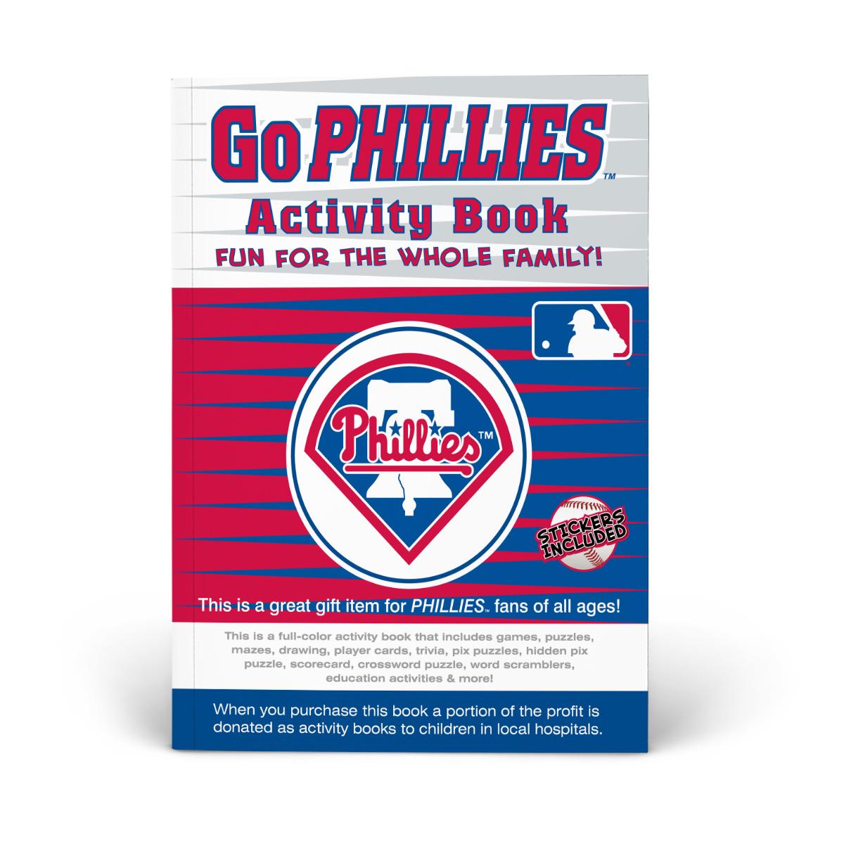 Philadelphia Phillies Activity Book