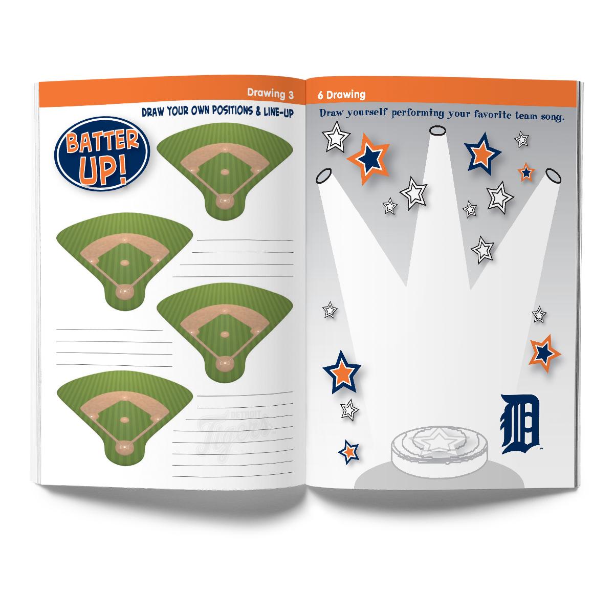 Detroit Tigers Activity Book