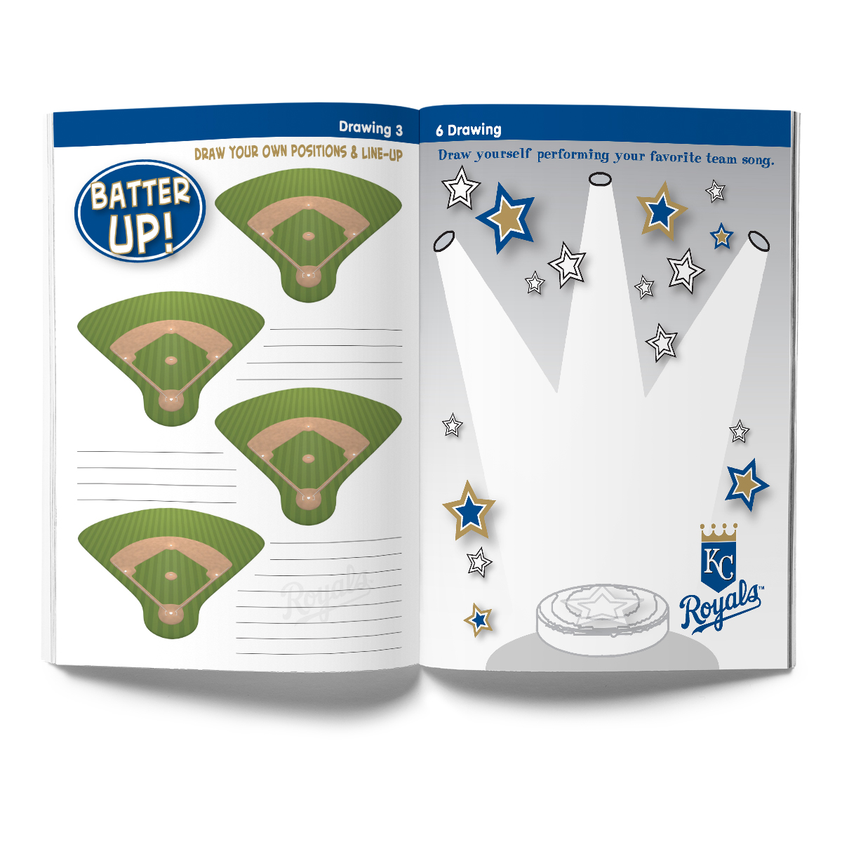 Kansas City Royals Activity Book