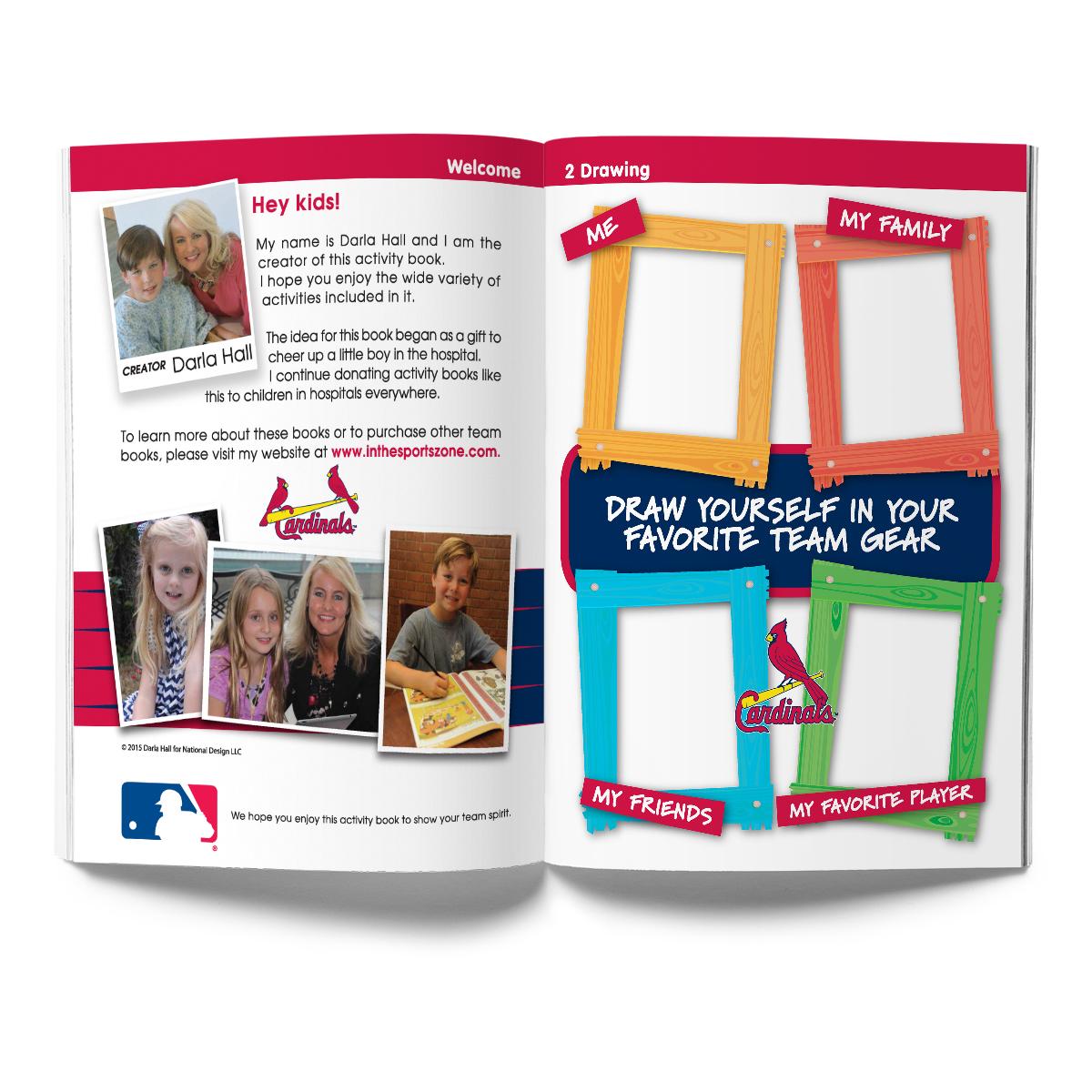 St. Louis Cardinals Activity Book