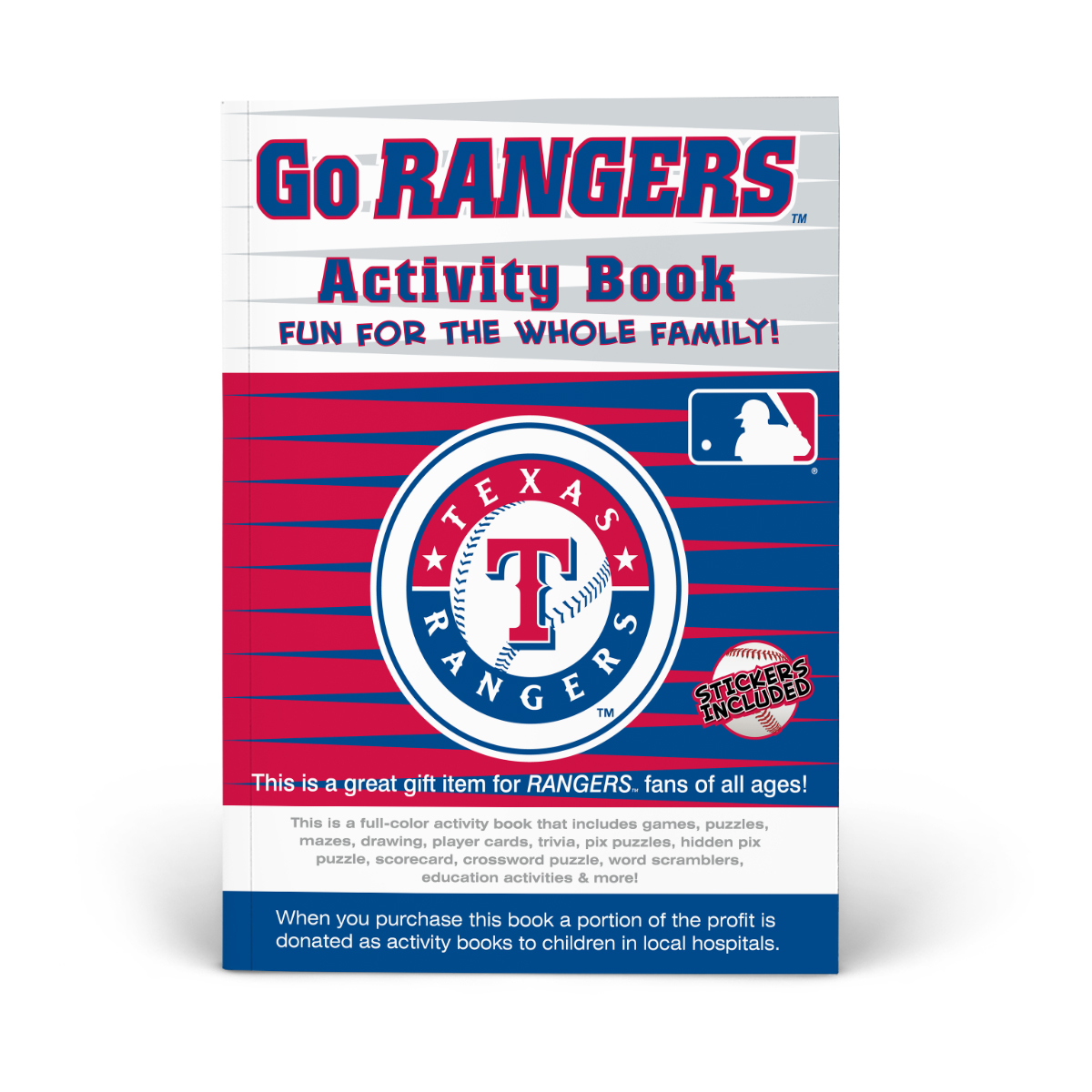 Texas Rangers Activity Book