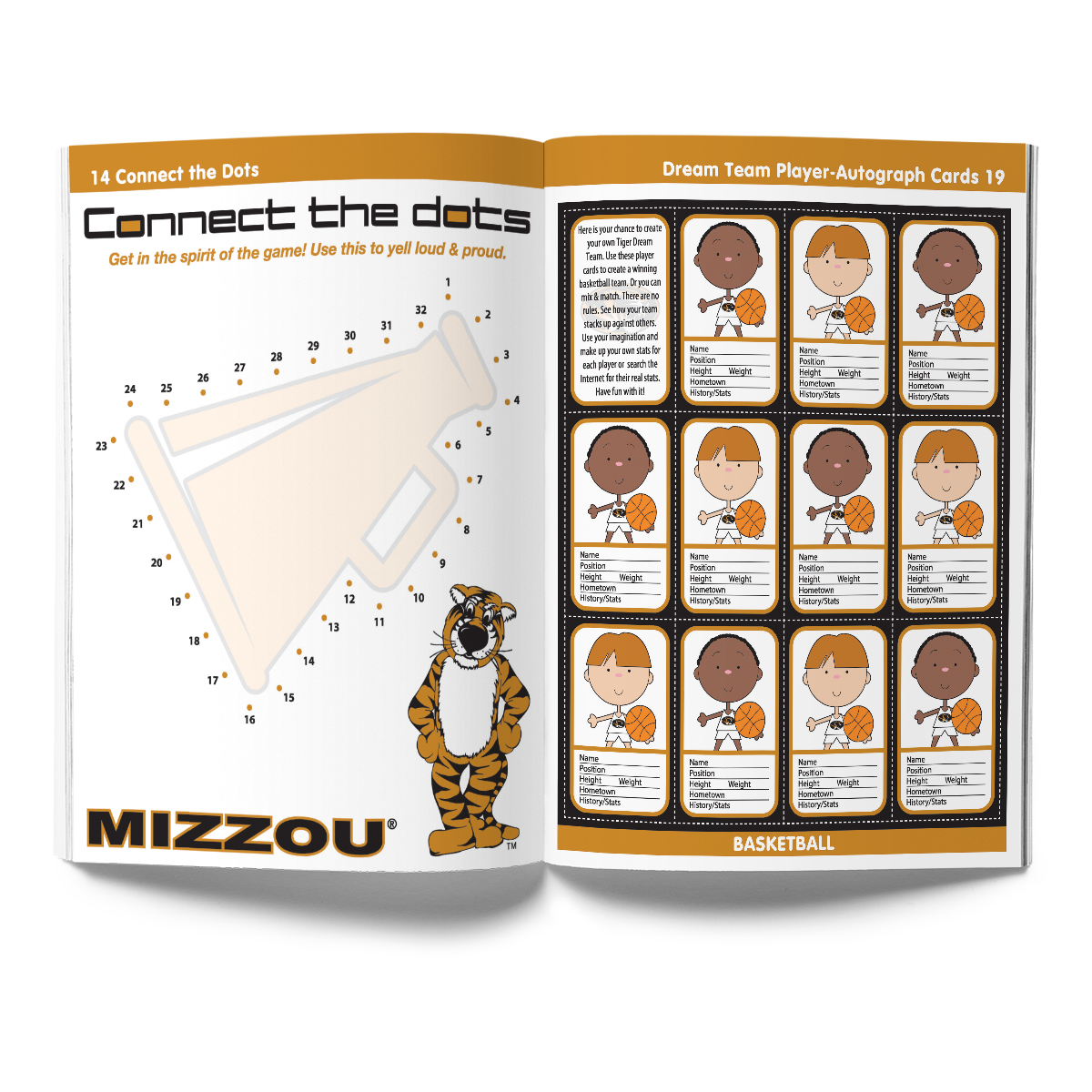 Missouri Tigers Activity Book