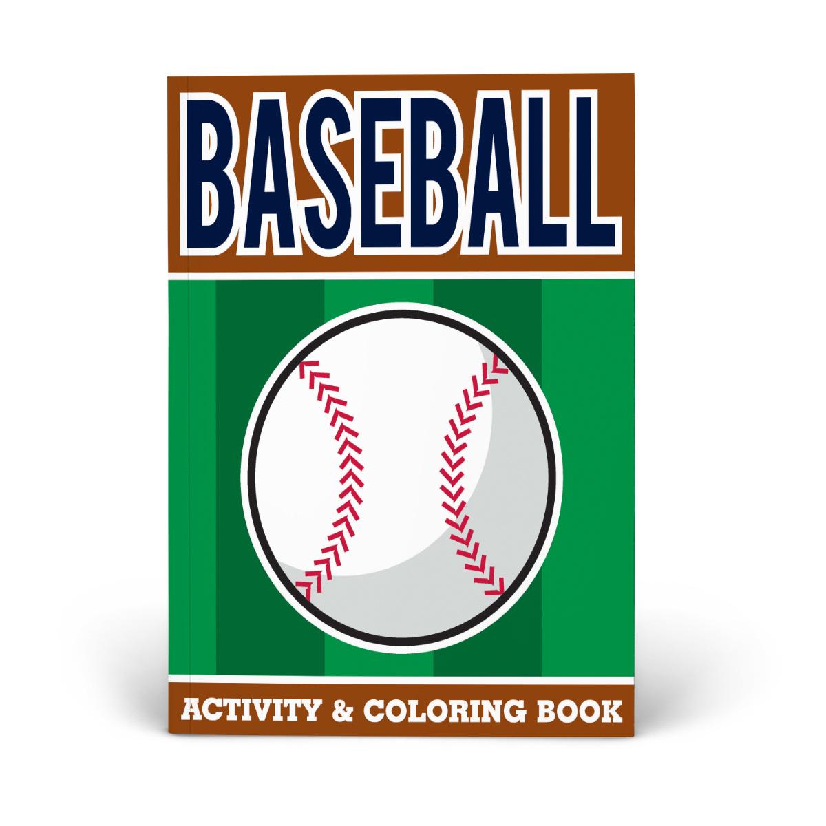 Baseball Activity & Coloring Book
