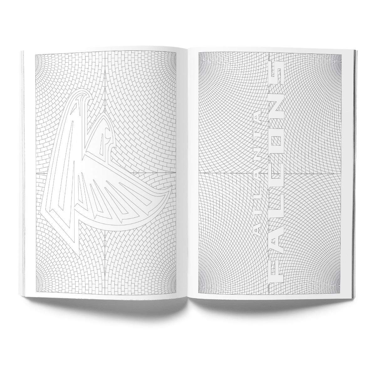 Atlanta Falcons Adult Coloring Book
