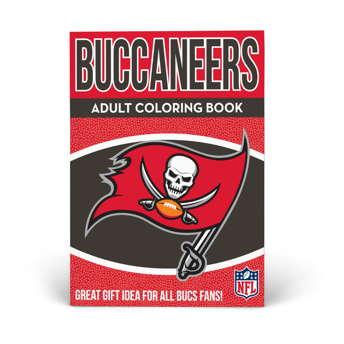 Tampa Bay Buccaneers Adult Coloring Book