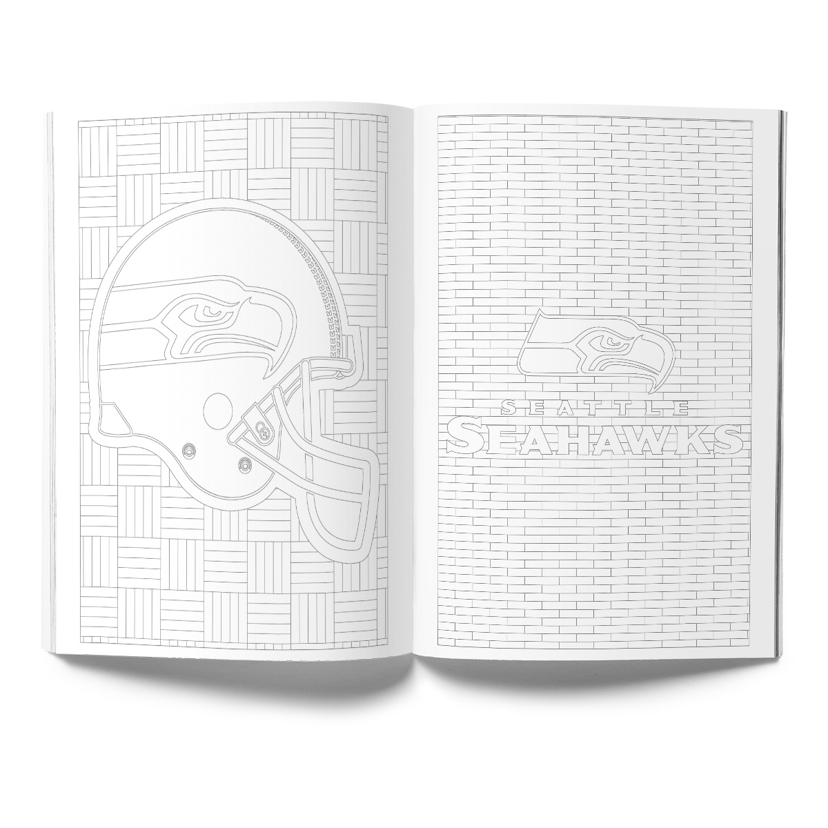 Seattle Seahawks Adult Coloring Book