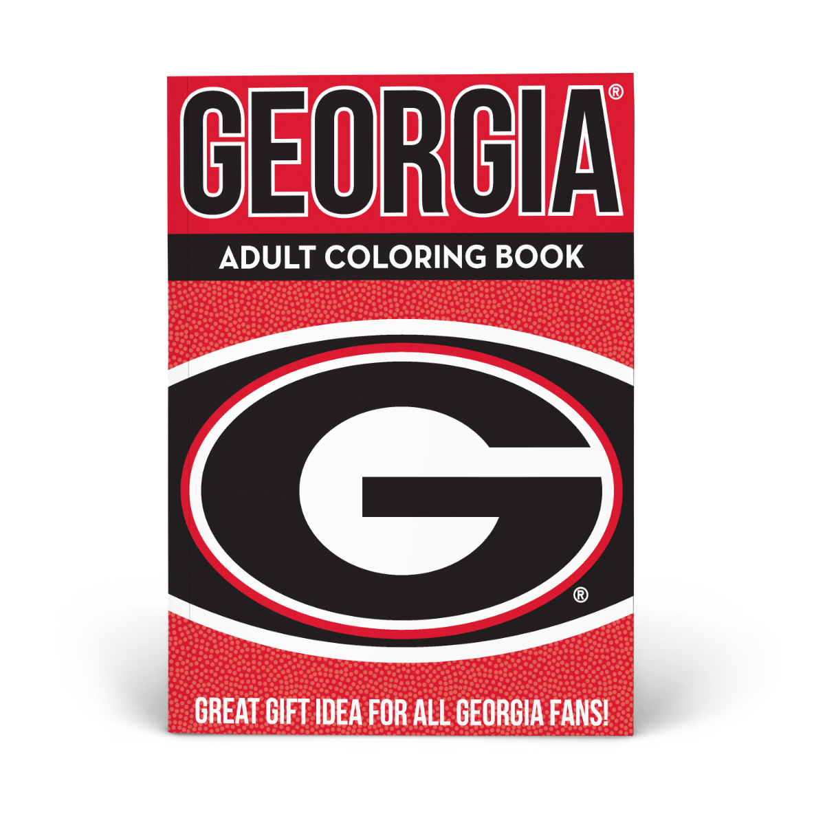 Georgia Bulldogs Adult Coloring Book