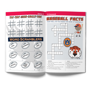 Auburn Tigers Activity Book