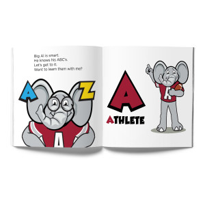 Alabama Crimson Tide- Big Al, My Pal Book