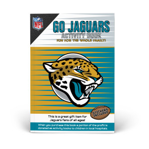 Jacksonville Jaguars Activity Book