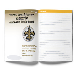 New Orleans Saints Activity Book