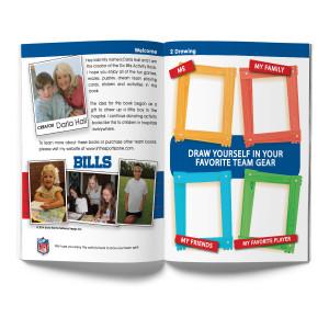 Buffalo Bills Activity Book