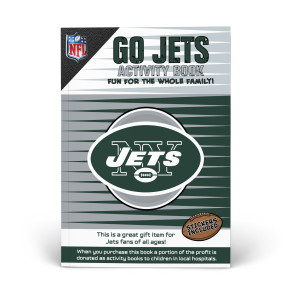 New York Jets Activity Book