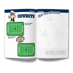Dallas Cowboys Activity Book