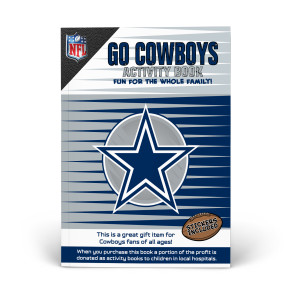 Dallas Cowboys Activity Book
