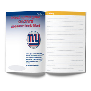 New York Giants Activity Book