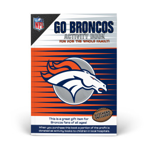 Denver Broncos Activity Book