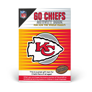 Kansas City Chiefs Activity Book
