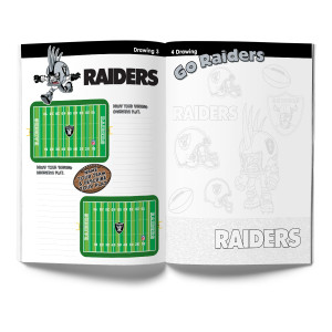 Oakland Raiders Activity Books