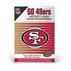 San Francisco 49ers Activity Book