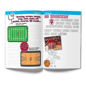 Indiana Hoosiers Activity Book