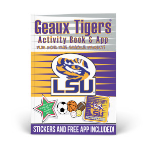 LSU Tigers Activity Book