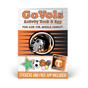 Tennessee Vols Activity Book