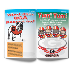 Georgia Bulldogs Activity Book