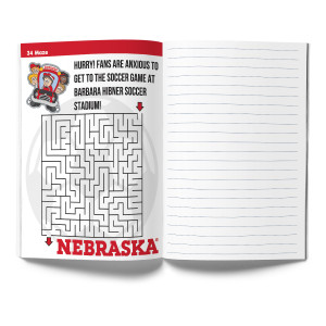 Nebraska Cornhuskers Activity Book