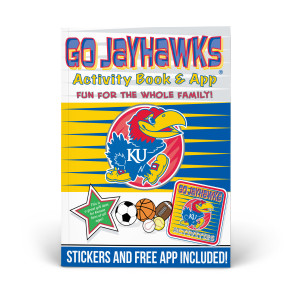 Kansas Jayhawks Activity Book