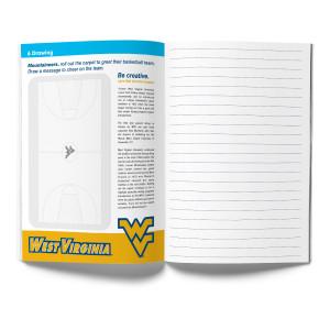 West Virginia Mountaineers Activity Book