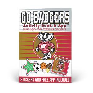 Wisconsin Badgers Activity Book