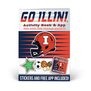 Illinois Fighting Illini Activity Book